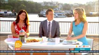 Good Morning Britain: 6am titles - Wednesday 16th July (Outside)