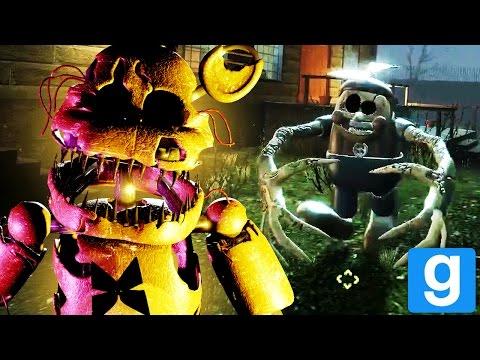 PLAY AS THE REAPER ANIMATRONICS! || GMOD FNAF (Final Nights 3 Pill Pack Garrys Mod)