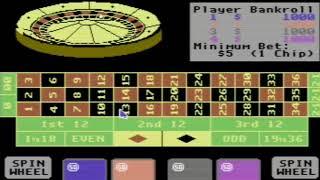 C64 ROULETTE FROM Vegas Casino II 1989Mastertroniccr NECa3