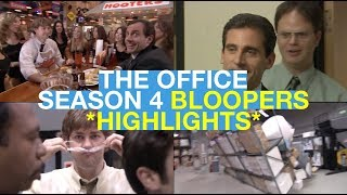 The Office Season 4 | Bloopers Highlights