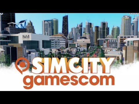 SimCity Gamescom Trailer [video officielle]