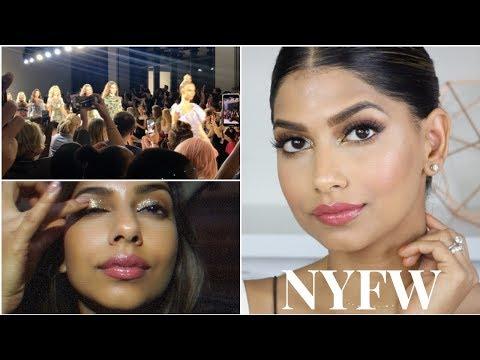 GRWM: NYFW Makeup Tutorial & Quick Vlog