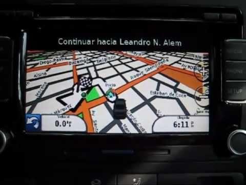 VW Vento Fiscon & Garmin en RCD510 GPS