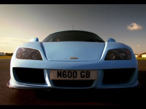 Noble M600 Track Test   Top Gear