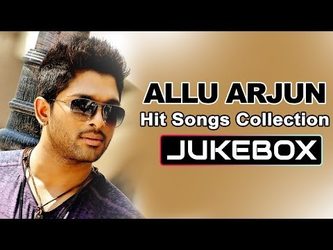 Allu Arjun Hit Songs Collection || Telugu Songs Jukebox video