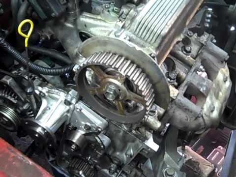 1991 geo metro red drive train restoration.wmv