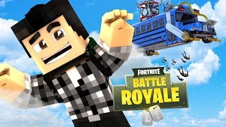 FORTNITE BATTLE ROYALE DANS MINECRAFT ?!