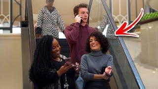AWKWARD PHONE CALLS on the ESCALATOR PRANK! (Part 2)