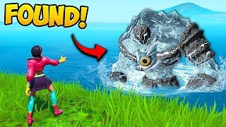 *NEW* POLAR PEAK MONSTER SPOTTED!! - Fortnite Funny Fails and WTF Moments! #584