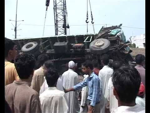 Karachi Container Accidents