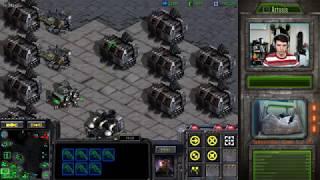 [23.4.19] StarCraft Remastered 1v1 (FPVOD) Artosis (T) vs GgoBookk (P) Circuit Breakers + Replay
