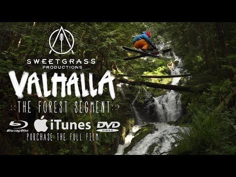 CRAZY Skiing With no Snow!!! From Sweetgrass Productions Valhalla
