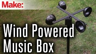 Wind-Powered Music Box