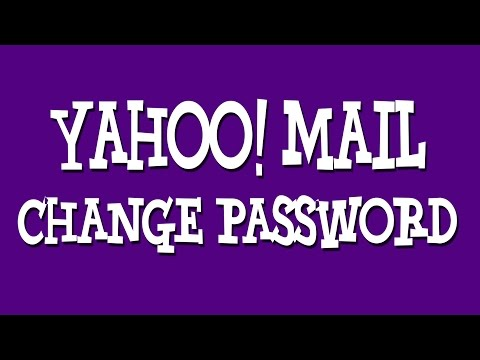 Yahoo Mail Change Password | Get a New Password For Your Yahoo Account