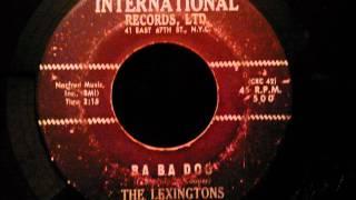 Lexingtons - Ba Ba Doo - Rare NYC Mid Tempo Doo Wop