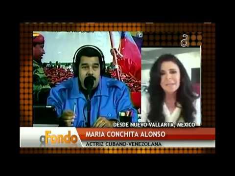 Nicolas Maduro cuestiona a María Conchita Alonso - América TeVé