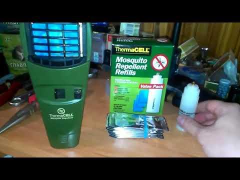 Thermacell Как заправить баллончик Термоселл