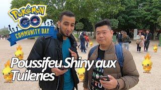 Seb et Ouss : Community Day Poussifeu aux Tuileries - Pokémon GO