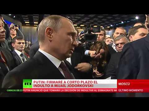 Putin indultará al exdirector ejecutivo de la petrolera Yukos, Mijaíl Jodorkovski
