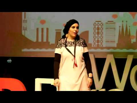 Social entrepreneurs are super heroes!: Sarah Toumi at TEDxBarcelonaWomen
