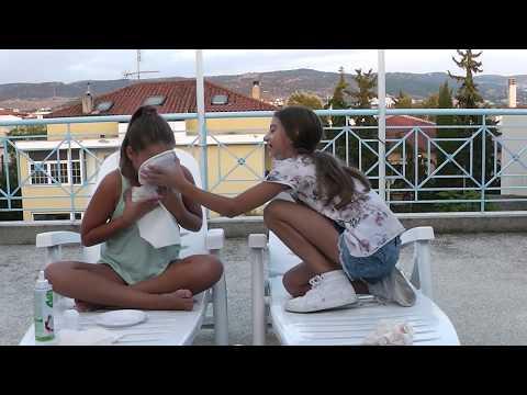 Whipped Challenge- Lidia Anna-Αν κανεις λαθος τα τρως στην μαπα.