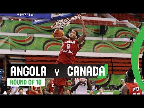 Angola v Canada - Round of 16 Full Game - 2014 FIBA U17 World Championship