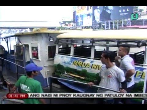 Bagong commuter boat, inilunsad ng MMDA ngayong araw para sa Pasig River Ferry System [9/16/15]