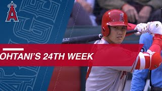 Best of Shohei Ohtani's 24th week of 2018