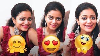 Janani Iyer's Cute Expressions of Famous Emoji