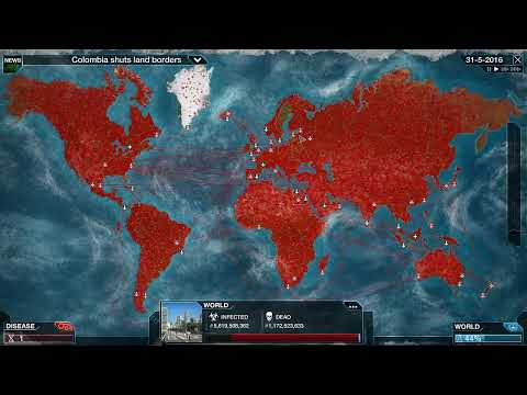Plague Inc: Evolved - Bacteria: Attempt #1 - Feral Kittens