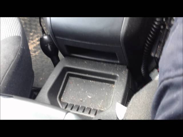 OBD EOBD SOCKET LOCATION VAUXHALL ZAFIRA B - YouTube