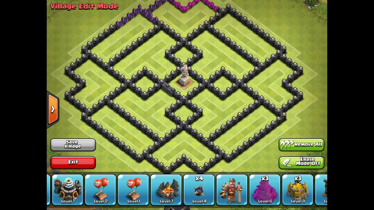 Clash of clans clan war map 2017 2018 best cars reviews