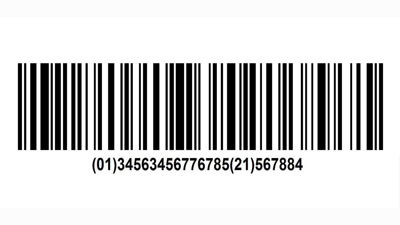 GS1-128 Barcode Creation - YouTube