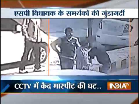 Samajwadi Party supporters thrash toll plaza employees in Barabanki district