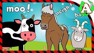 Развивающие мультфильмы домашние животные для детей учимся говорить развивающие мультики
