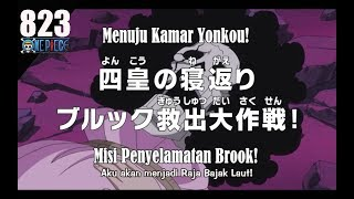 One Piece Episode 823 Preview (HD) - Menyelamatkan Brook