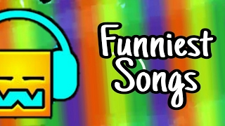 Top 5 Funniest Songs In Geometry Dash