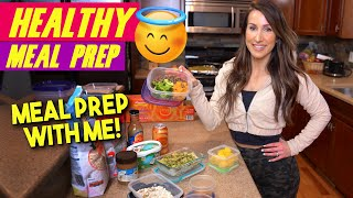 Dietitian Healthy Meal Prep for Your Work Week - Eliminate Decision Fatigue