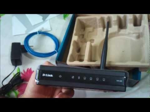 Roteador Wireless D-Link DIR-600
