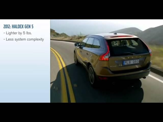 Volvo All Wheel Drive - Haldex Generation 5 - YouTube