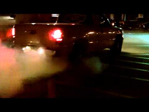 Procharged 99 Chevy Silverado Burnout