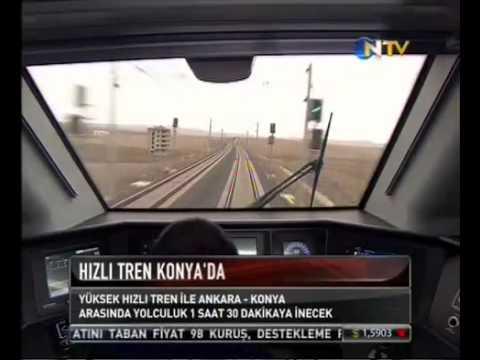 Hızlı Tren Konya'da