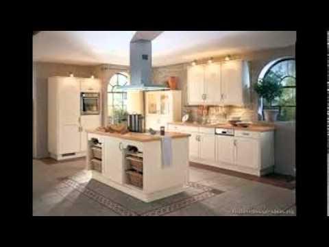 Countertops For White Kitchen Cabinets Youtube