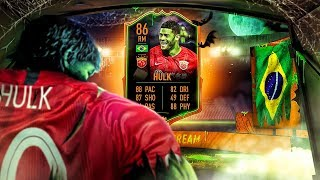 THE BEAST IS BACK! 86 ULTIMATE SCREAM HULK PLAYER REVIEW! FIFA 20 Ultimate Team