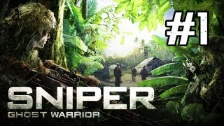 Sniper Ghost Warrior Walkthrough - Part 1 One Shot, One Kill (Gameplay Commentary)