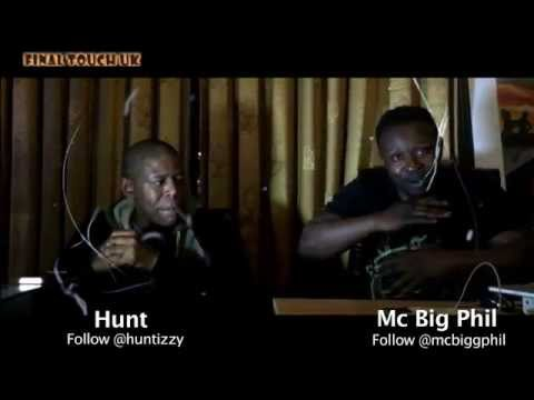 Hunt and Mcbigphil performs at the Ghana Youth Ball on the 4th April