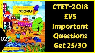 02| पर्यावरण अध्ययन NCERT Notes| EVS Important Questions For CTET 2018