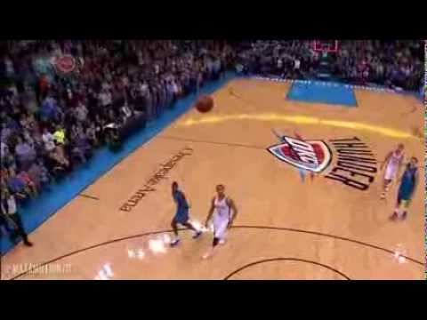 (HD) Darren Collison AMAZING Game-Tying 3 Pointer! Mavericks vs. Thunder! Buzzer Beater
