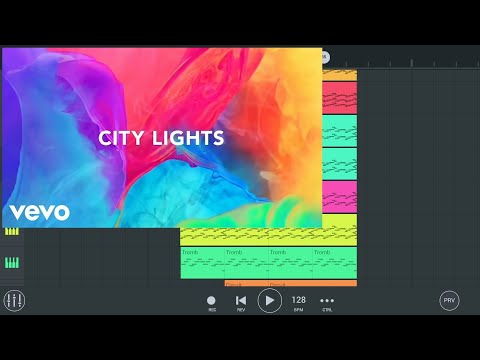 "Avicii ""City Lights""∣FL Studio Mobile remake"
