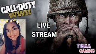 COD: WW2 - PRESTIGE GRIND!!! | Tinaa Gaming | Live Stream